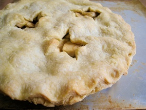 American Vegan Apple Pie