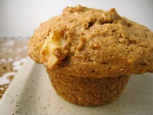 Vegan Banana Walnut Muffins or Bread