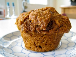 Vegan Carrot Bran Muffins or Bread