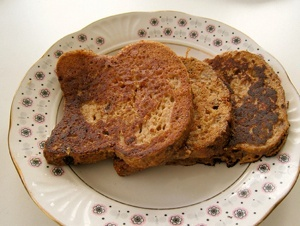 Ferocious Vegan French Toast