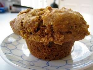 Vegan Ginger Pear Muffins