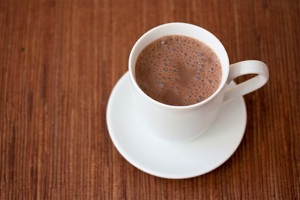 Heavenly Vegan Hot Chocolate - A Hot Cocoa that's smooth and silky