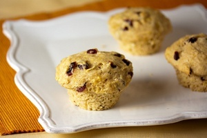 Vegan Orange Cranberry Muffins or Bread