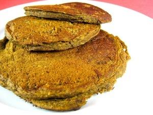 Vegan Pumpkin Buckwheat Pancakes