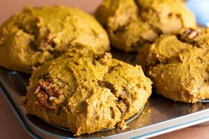 Vegan Pumpkin Spice Muffins or Bread