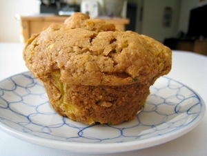 Vegan Zucchini Pineapple Muffins or Bread