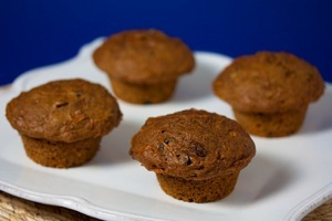 Vegan Carrot Cake Muffins or Bread