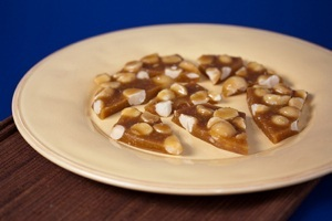 Vegan Coconut Macadamia Nut Brittle
