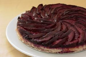 Vegan Plum Cake