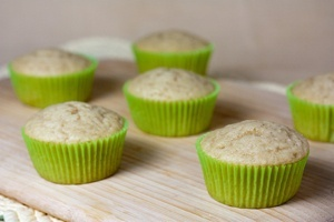 Vegan Vanilla Cupcakes - Quick Bread Method