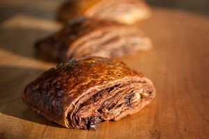 Vegan Chocolate Croissants - Pain au Chocolat