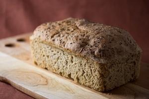 Easy Vegan Rye Bread