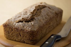 Flourless Sprouted Whole Wheat Bread