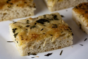Three Herbed Focaccia Recipe